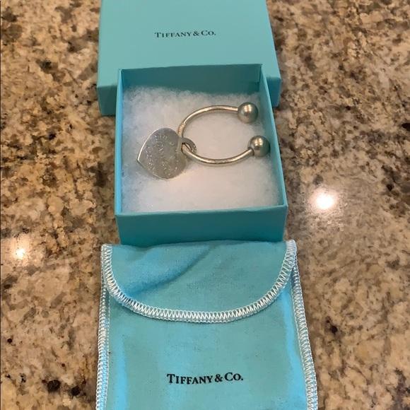 Tiffany & Co. Accessories - Return to Tiffany &Co. heart key tag